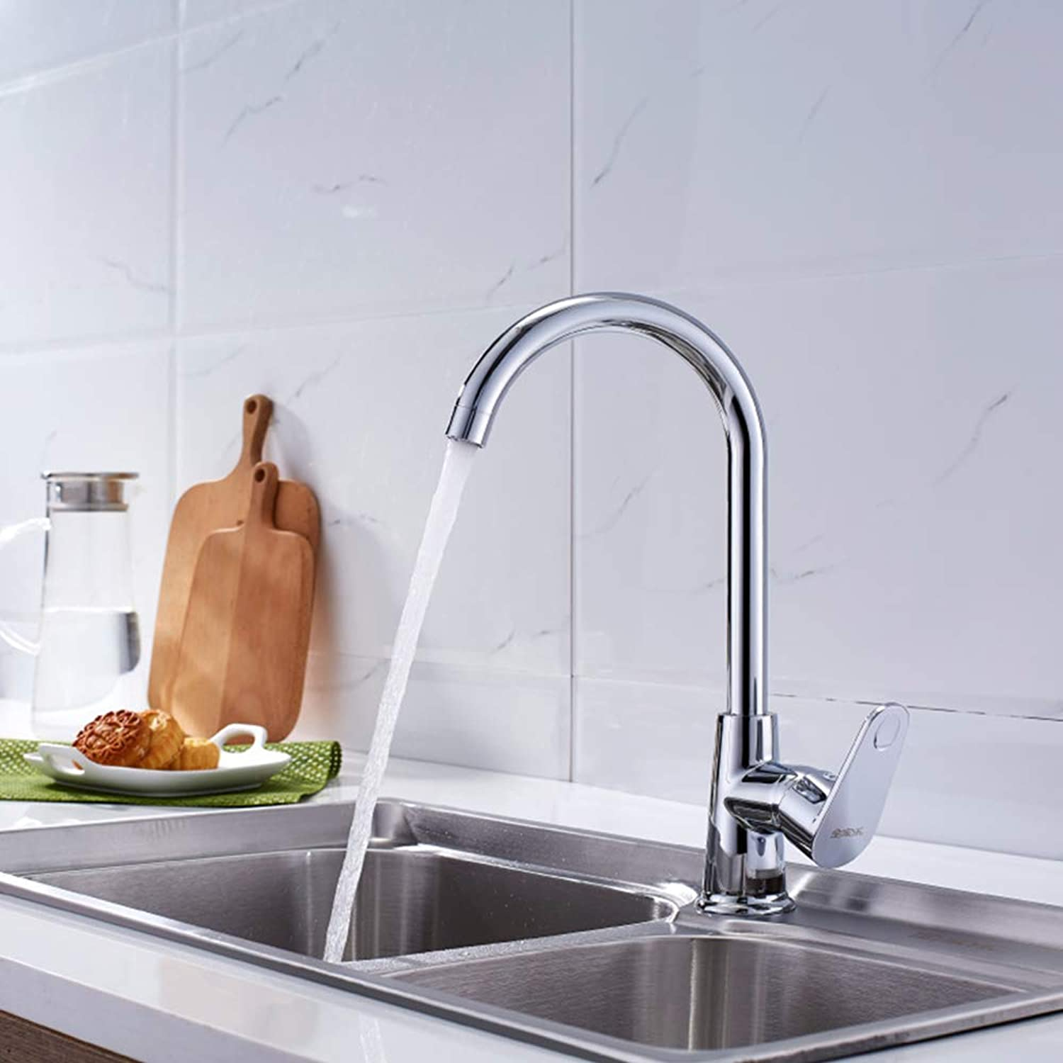 Zhanghaidong Single Lever Swivel Spout Stainless Steel Kitchen Sink Mixer Tap Pull Down Mono Kitchen Sink Taps redating Multi-Function Hot And Cold Water Tap