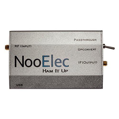 Aluminiumgehäuse für Ham It Up v1.3 RF Upconverter, Stranggepresstes, für NESDR und RTL SDR-Radios, silberfarben