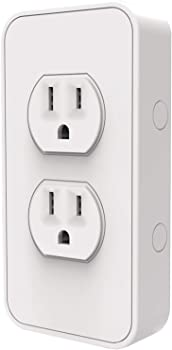 Refurb SimplySmartHome Snap-on Smart Power Outlet with Voice Controls