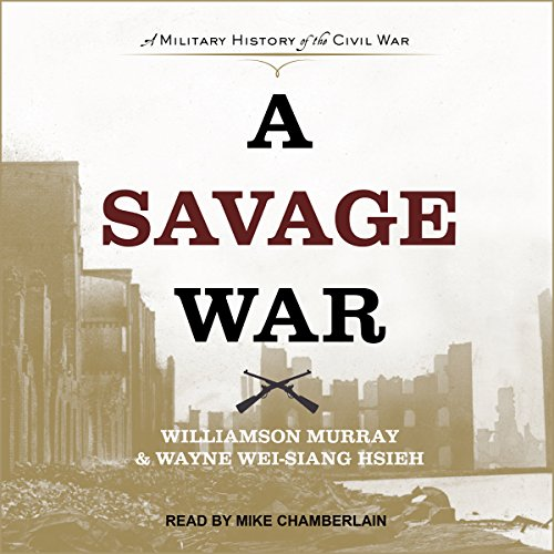 A Savage War audiobook cover art