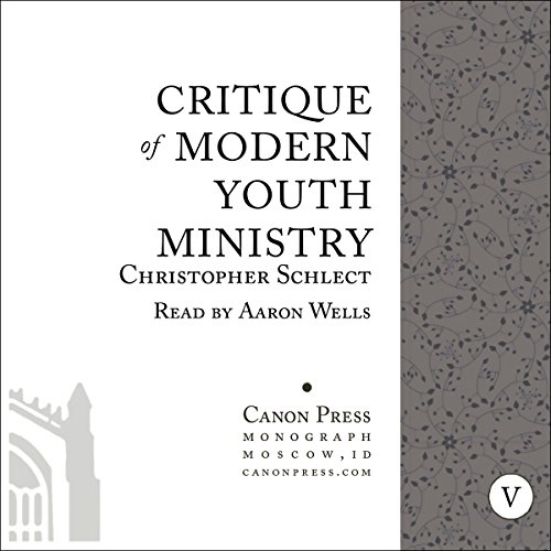 Critique of Modern Youth Ministry audiobook cover art