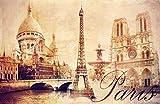 Fototapete selbstklebend Paris - Vintage 310x200 cm -
