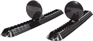 Adjustable Kayak Foot Brace/Pegs with Trigger Lock - Set of 2 - Black - PS0540-2