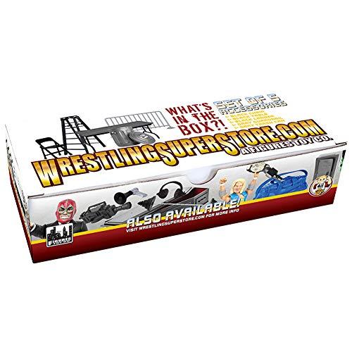 Set of 5 Wrestling Props Accessories For WWE Wrestling Action Figures