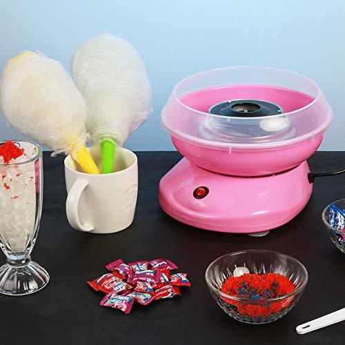 Máquina de algodón de azúcar - Estilo colorido - Hace caramelo duro, caramelo sin azúcar, hilo de azúcar, dulces hechos en casa para uso en el hogar: Amazon.es: Hogar