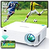 Best Projectors - WISELAZER Outdoor Projector WiFi Bluetooth 4k Projector 250ANSI Review