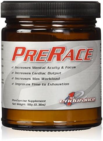 First Endurance PreRace Workout Supplement 90 Caps