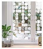 Vinilos para Ventanas Ventana de privacidad Película sin adhesivo Auto adhesivo 3D Estado de cristal decorativo decorativo Pegatinas para la oficina de cocina Oficina Anti-UV ( Größe : 90x500cm )
