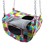 Alfie Pet - Jelly Hammock for Mouse, Chinchilla, Rat, Gerbil, Dwarf Hamster, Ferret, Rabbit, Guinea Pig and Kitten - Color: Multi, Size: Small