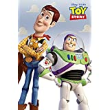 Toy Story Poster, Woody and Buzz, Pixar Version, Size 24x36