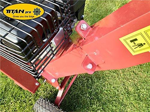 Titan Pro 6.5HP Petrol Garden Wood Chipper | 60mm Capacity Chipper | TP600B