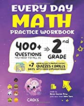 Every Day Math Practice Workbook: 400+ Questions You Need to Kill in 2nd Grade + 7 Days Online Access to Premium Content |  Quizzes & Drills with Video Explanations