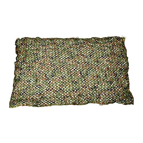 ZHJBD Camouflage Woodland Camouflage Nets Mountain Greing Decoration observatie van vogels waarneming van militair training Camping 3 x 6 m (maat: 3 x 9 m) 5x6M