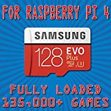 128GB Micro SD カード Raspberry Pi 4 Retropie 135k Retro Classics用