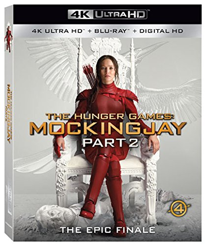 High material Fort Worth Mall The Hunger Games: Mockingjay Part 2 Blu-ray HD 4K Dig Ultra +