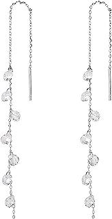 dangle silver earrings