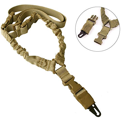 Greymond Rifle Sling with Adjustable Strap, Multi-Function Safety Rope Sling Mountaineering Lightweight Cord