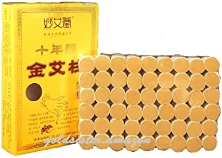 Abbott 10-Years Purity 60:1 Ratio 54 Rolls Sticks Pure Moxibustion Moxa X'mas Gift/Dad's/Mom's Gift