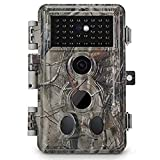 Meidase Trail Camera 16MP 1080P , Game Camera with No Glow Night Vision