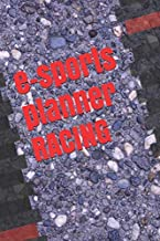 e-sports planner RACING: Simracing Calendar, 242 Sites, 6x9 inch, Notebook for Simracing, 24 weeks, gift, present for gamer, christmas gift for racing drivers