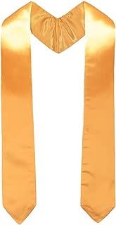 Annhiengrad Graduation Stole for Academic Commencements, 60''Long, Adult, 15 Colors