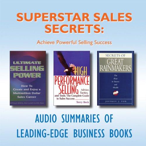 Superstar Sales Secrets  Audiolibri