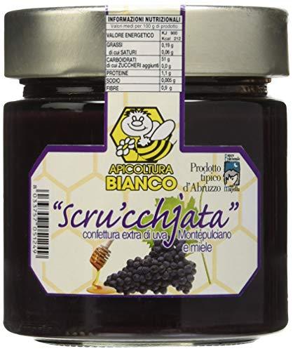 Apicoltura BIANCO - Scrucchjata D' Uva Montepulciano e Miele – Prodotto Tipico D'Abruzzo - Italy