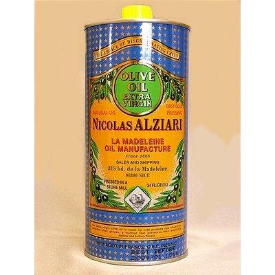 【ALZIARI】エクストラ・バージン・オリーブオイル1リットル缶【アルジアリ社】