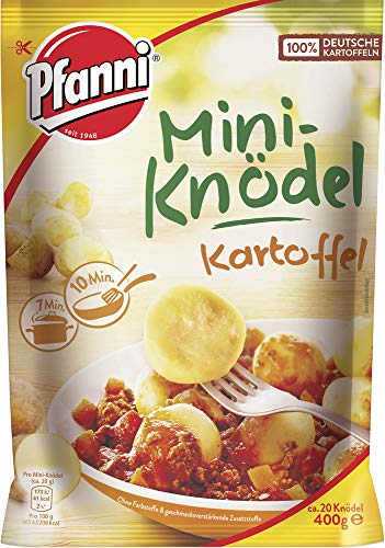 Pfanni Mini Kartoffelknödel, 7er-Pack (7 x 400 g)