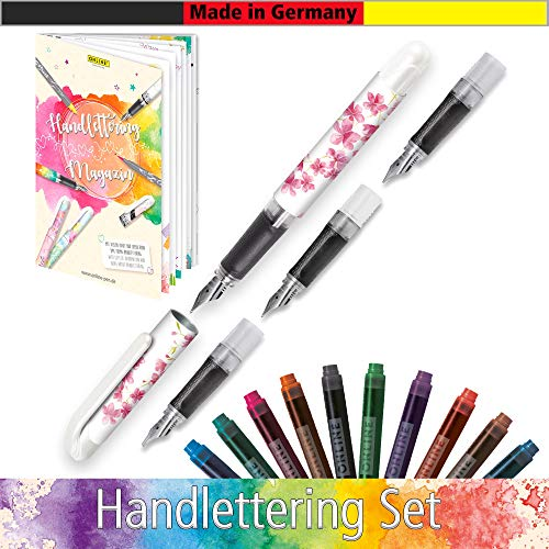 Online – Juego de escritura Handlettering2Go con pluma, color Cherry Blossom
