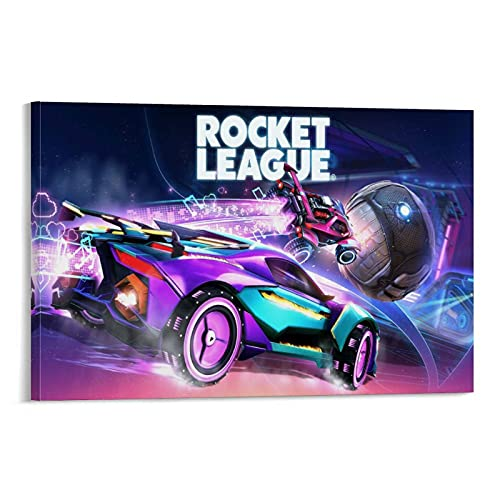YRETW Póster de Rocket-League-Switch-Hero Pintura decorativa de la pared del arte de la pared de la sala de estar carteles de dormitorio pintura de 50 x 75 cm