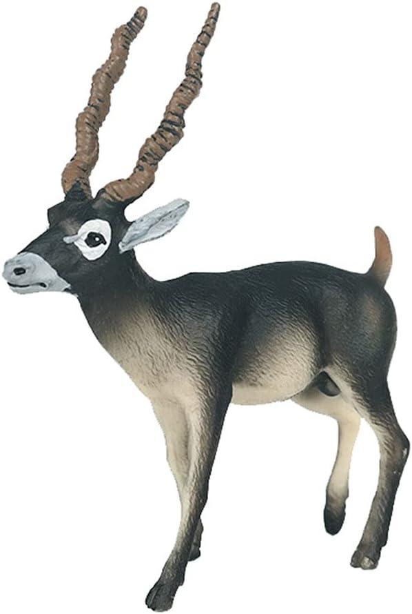 JOKFEICE Animal Figures Realistic Oakland Mall Actio Plastic Topics on TV Blackbuck