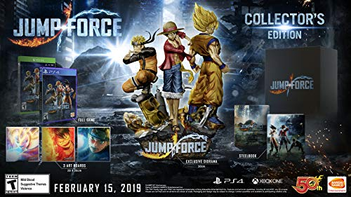 Jump Force Collector' S Edition Play Station 4 – Collector's Edition – PlayStation 4