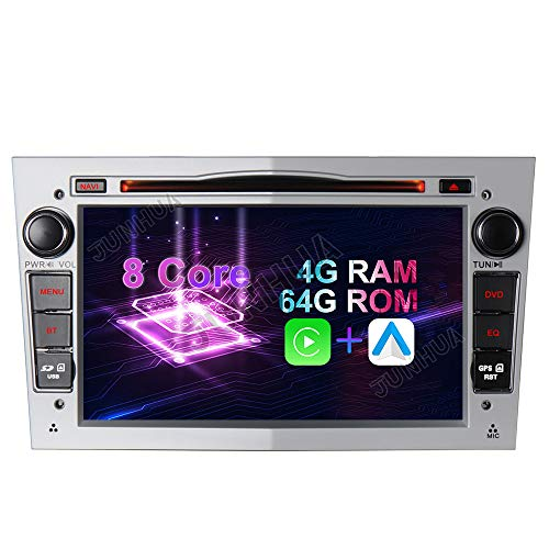 Android 10 Octa-Core 4GB RAM+64GB ROM Carplay+Android Auto Autoradio DVD GPS Navigation 7