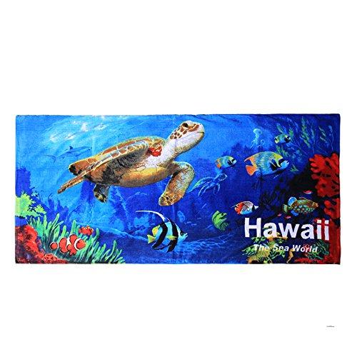 Palm Wave Hawaii Toalla de Playa 100% algodón 60x...