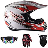ZHXH Cross Country Mountain Full Face Motobiker Casco Bicicleta clásica Bicicleta de montaña Dh Racing Casco Motocross Bike Helmet