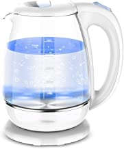 Electric Kettle Home glas Electric Kettle Blu-ray Automatic Power-off RVS waterkoker Quick Boiling Kettle Kettle 1.8L (Col...