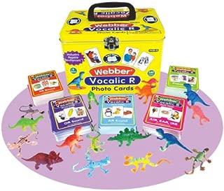 Super Duper Publications Webber Vocalic R Photo Card Decks Educational Learning Resource for Children