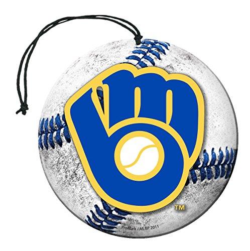 milwaukee brewers MLB Milwaukee Brewers Auto Air Freshener, 3-Pack