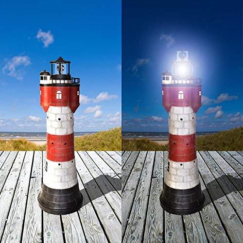 meimie00 Red zand Een lamp op zonne-energie met roterende led-reflectoren, hoge aandacht op de details 50 cm per dag F-40