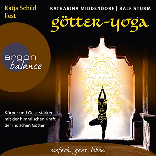 Götter-Yoga audiobook cover art