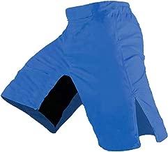 blue mma shorts