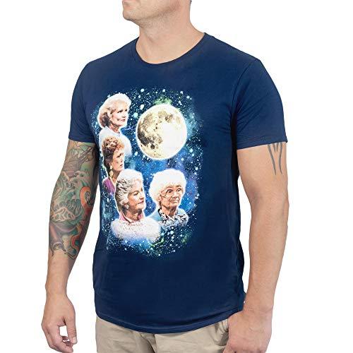 Golden Girls 80's Wolf Moon Men's Funny T-Shirt, Navy Blue, S to 2XL