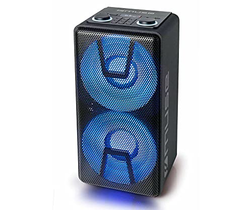 Altavoz Bluetooth MUSE M-1805DJ Color Negro, Party Box con batería