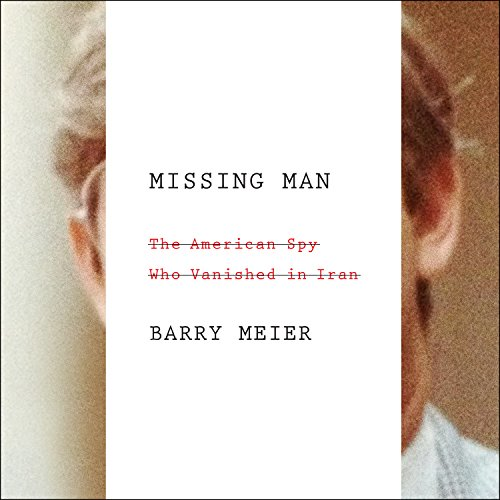 Missing Man audiobook cover art