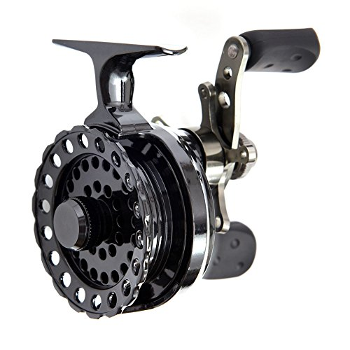 Eleganantstunning High Foot Raft Angelrolle 4+1BB Kugellager Links Rocker Micro Lead Wheel, Right