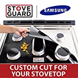 Samsung Stove Protectors - Stove Top Protector for Samsung Gas Ranges - Ultra Thin Easy Clean Stove Liner