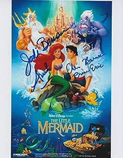 The Little Mermaid (Jodi Benson & Christopher Daniel Barnes) signed 8x10 photo