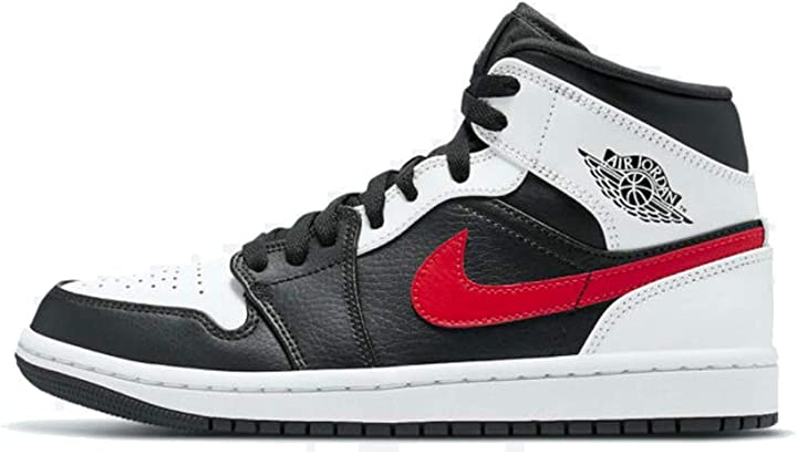 Nike air jordan 1 mid, scarpe da basket uomo 554724-075