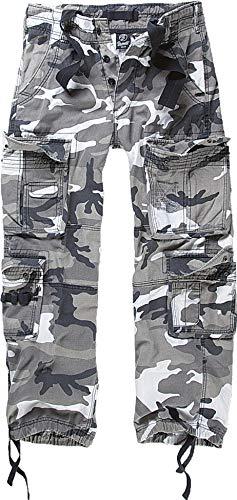 Brandit Pure Vintage Pantaloni, Multicolore (Urban 15), S Uomo